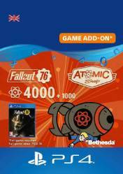 Buy Cheap Fallout 76 5000 Atoms PS4 CD Key