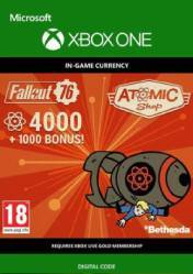 Buy Fallout 76 5000 Atoms Xbox One