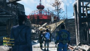 Fallout 76: game's physics are tied to framerate