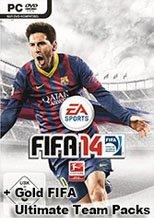 Buy FIFA 14 Gold Ultimate Team Packs pc cd key for Origin
