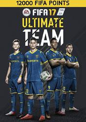 Buy FIFA 17 12000 FUT Point pc cd key for Origin