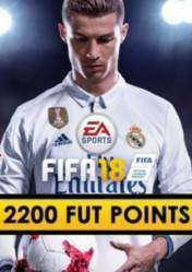 Buy FIFA 18 2200 FUT Points PC CD Key