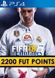 Buy FIFA 18 2200 FUT Points PS4 CD Key