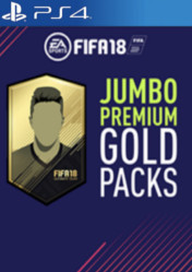 Buy FIFA 18 5 x Jumbo Premium Gold Packs DLC PS4 CD Key