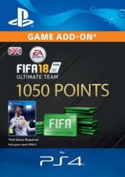 Buy FIFA 18 Ultimate Team 1050 FIFA Points PS4 CD Key