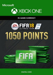 Buy FIFA 18 Ultimate Team 1050 FIFA Points XBOX ONE CD Key
