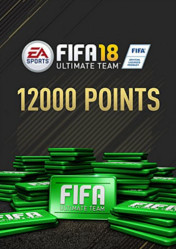Buy FIFA 18 Ultimate Team 12000 FIFA Points pc cd key for Origin