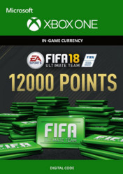 Buy FIFA 18 Ultimate Team 12000 FIFA Points XBOX ONE CD Key
