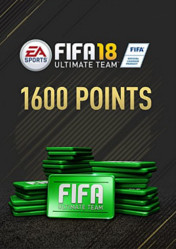 Buy FIFA 18 Ultimate Team 1600 FIFA Points PC CD Key