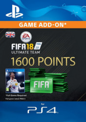 Buy FIFA 18 Ultimate Team 1600 FIFA Points PS4 CD Key