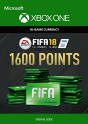 Buy FIFA 18 Ultimate Team 1600 FIFA Points XBOX ONE CD Key
