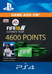 Buy FIFA 18 Ultimate Team 4600 FIFA Points PS4 CD Key
