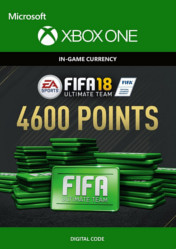 Buy FIFA 18 Ultimate Team 4600 FIFA Points XBOX ONE CD Key