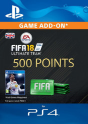 Buy FIFA 18 Ultimate Team 500 FIFA Points PS4 CD Key