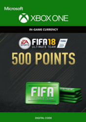Buy FIFA 18 Ultimate Team 500 FIFA Points XBOX ONE CD Key