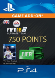 Buy FIFA 18 Ultimate Team 750 FIFA Points PS4 CD Key