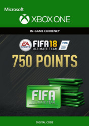 Buy FIFA 18 Ultimate Team 750 FIFA Points XBOX ONE CD Key