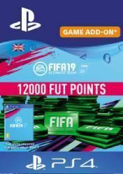 Buy FIFA 19 12000 FUT Points PS4 CD Key