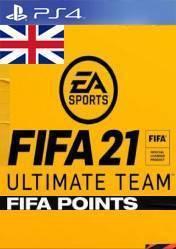 Buy Cheap FIFA 21 FUT POINTS United Kingdom Accounts PS4 CD Key