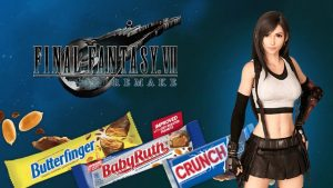 Final Fantasy 7 Remake gives you in-game boosts for buying real-world candy
