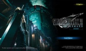 Final Fantasy VII Remake: the demo is now available on the PlayStation Store