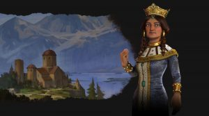 Firaxis presents Tamar, Georgia's leader on Civilization VI: Rise and Fall