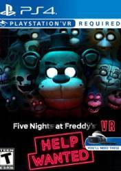 Buy Cheap FIVE NIGHTS AT FREDDYS VR: HELP WANTED PS4 CD Key