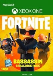 Buy Fortnite Bassassin Challenge Pack Xbox One