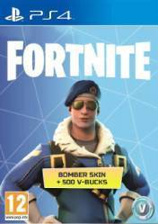 Buy Fortnite Bomber Skin + 500 V Bucks PS4 CD Key