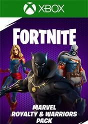 Buy Cheap FORTNITE Marvel Royalty & Warriors Pack XBOX ONE CD Key
