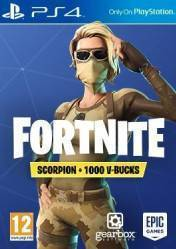 Buy Cheap Fortnite Scorpion Skin + 1000 V-Bucks PS4 CD Key