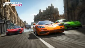 Forza Horizon 4: more than 60GB of free space required