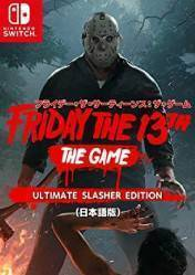 Buy Cheap Friday the 13th: The Game Ultimate Slasher NINTENDO SWITCH CD Key