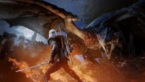 Geralt of Rivia will be coming to Monster Hunter World in February 8