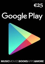 Buy Google Play Card 25 EUR DE pc cd key