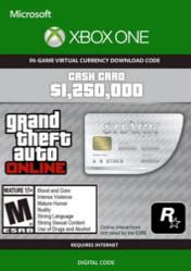 Buy Cheap Grand Theft Auto Online $1250000 Great White Shark Cash Card XBOX ONE CD Key