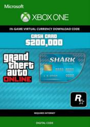 Buy Cheap Grand Theft Auto Online $200000 Tiger Shark Cash Card XBOX ONE CD Key