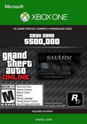 Buy Cheap Grand Theft Auto Online $500000 Bull Shark Cash Card XBOX ONE CD Key