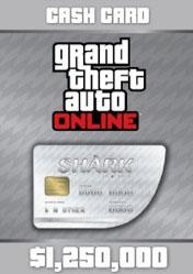 Buy GTA Online Great White Shark Cash Card 1.250.000$ PC CD Key