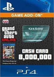 Buy Cheap GTA Online Megalodon Shark Cash Card 8.000.000$ PS4 CD Key