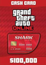 Buy GTA Online Red Shark Cash Card 100.000$ PC CD Key