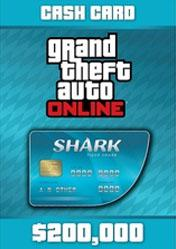 Buy GTA Online Tiger Shark Cash Card 200.000$ pc cd key