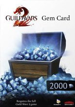 Buy Guild Wars 2 2000 Gems pc cd key