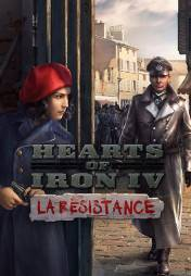 Buy Hearts of Iron IV: La Resistance pc cd key for Steam