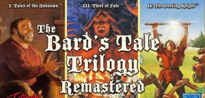 InXile Entertainment announces the remaster of the first three The Bard's Tale