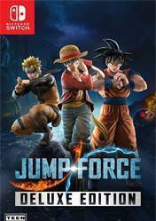 Buy Cheap Jump Force Deluxe NINTENDO SWITCH CD Key