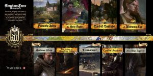 Kingdom Come Deliverance details its DLCs