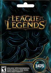 Buy Cheap League of Legends 1475 Riot Points PC CD Key