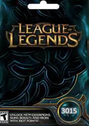 Buy Cheap League of Legends 3015 Riot Points PC CD Key