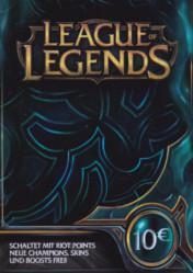 Buy Cheap League of Legends Riot Points Card 10 EUR PC CD Key